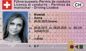 SWISS DRIVING LICENCE